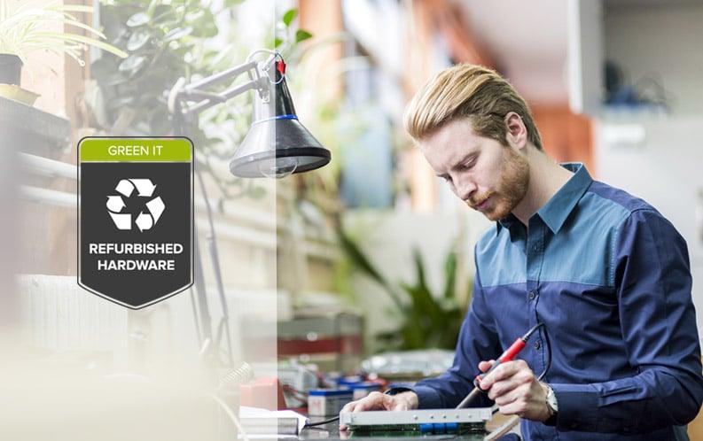 Gebraucht statt neuer Hardware von Green IT Solution GmbH