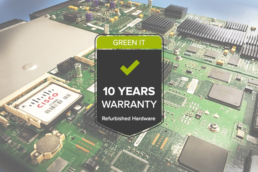 Auf refurbished Hardware bietet die Green IT Solution GmbH 10 Jahre Garantie