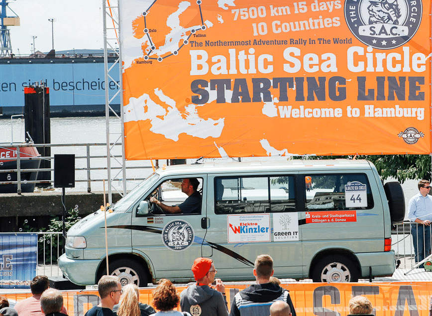 Spendenaktion der Green IT Solution GmbH  für den Baltic Sea Circle 2016