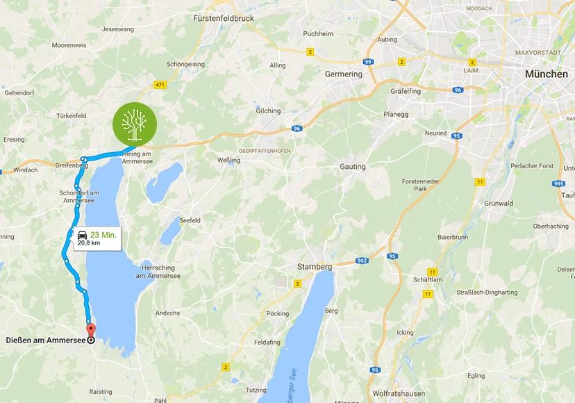 Das Vertriebsbüro der Green IT Solution GmbH zieht um