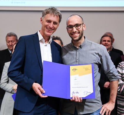 20 Jahre ÖKOPROFIT Deutschland und Auszeichnung der Münchner ÖKOPROFIT-Betriebe 2017/2018 am 8.11.2018 im Forum der IHK Akademie in München. Foto: Andreas Gebert